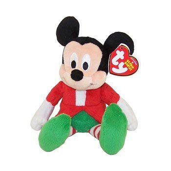 Ty Beanie Baby - Disney Christmas Holiday (Mickey) (Walgreens Exclusives) - 1
