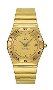 Omega Constellation Automatic Yellow Gold Mens Watch 1102.10.00