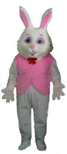Mascots USA by CJs Huggables Custom Pro Low Cost Easter Bunny PV mascot Costume