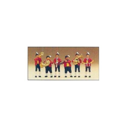 BAND PREISER HO SCALE MODEL TRAIN FIGURES 10207 Toys & Games