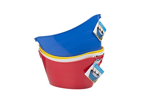 flexible-plastic-ice-utility-bucket-cooler-for-wine-beer-champagne-party-bbq-red