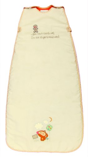 LIMITED TIME OFFER! The Dream Bag Baby Sleeping Bag Gingerbread 18-36 months 2.5 TOG - Cream - 1