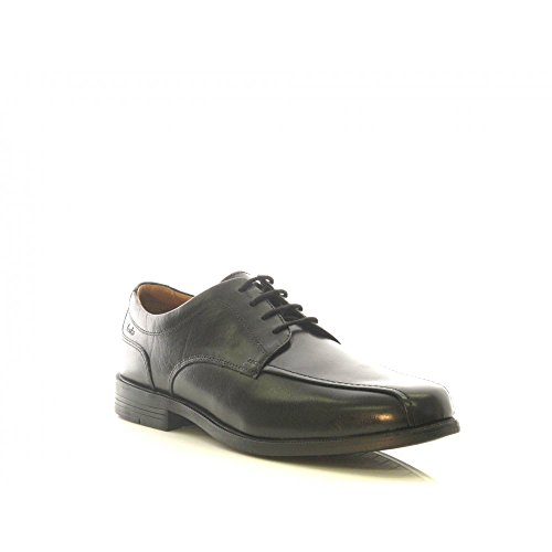 clarks-mens-lace-up-derby-shoes-beeston-stride-black-leather