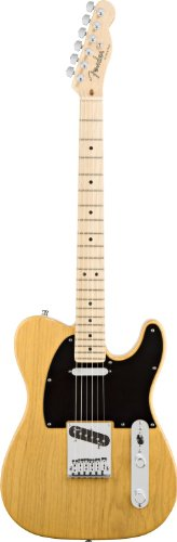 Fenderフェンダーアメリカンデラックス テレキャスター アッシュ バタースコッチ American Deluxe Tele_ Ash Electric Guitar, Butterscotch Blonde, Maple Fretboard[並行輸入]