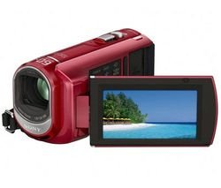 SONY DCR-SX30 Camcorder :  camcorders digital8 sony dcrsx30 camcorder red msmt8gn 8 gb memory stick pro duo card flash memory camcorder digital camcorder bundle sony