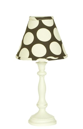 Cotton Tale Designs Raspberry Dot Lamp