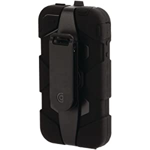 Griffin Survivor Military Tested Case for iPhone 4/4S- Black
