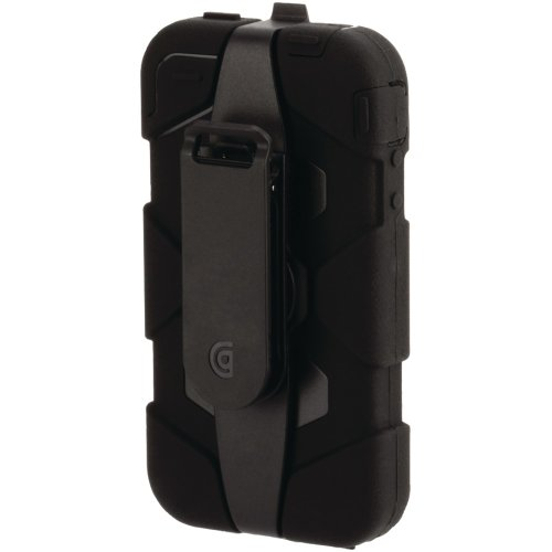 【国内正規品】 GRIFFIN iPhone4/4S対応 Survivor Survivor + Beltclip for iPhone 4 ブラック