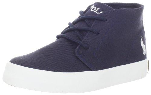 Polo Ralph Lauren Kids Ensson Mid Lace Up Sneaker aungcahazaxx