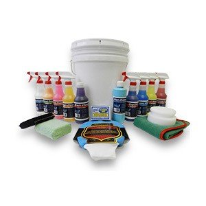 Detail King Deluxe Car Care Kit Gift Bucket (Deluxe Auto Detail Kit compare prices)