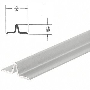 Crl satin anodized series 3606 lower track for sliding for 12 foot sliding glass door price