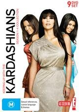 Keeping Up With The Kardashians Collection (Season 1-4) - 9 DVD SET