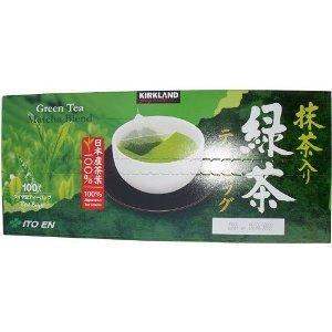 Kirkland Signature Ito En Matcha Blend (Green Tea), 100% Japanese Green Tea Leaves, 100 Tea Bags