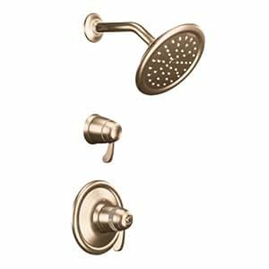 Moen Ts3400az Exacttemp Shower Only Faucet Antique Bronze Bathtub And Showerhead Faucet