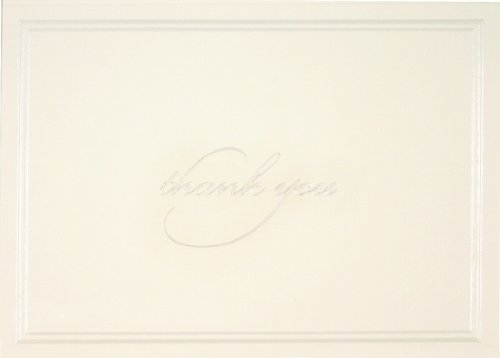 Gartner Studios Thank You Cards, Pearl Ivory,