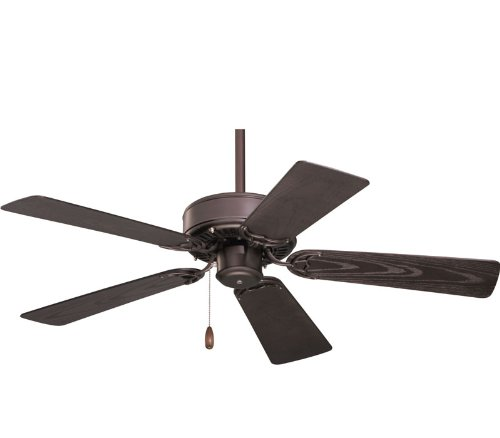 Emerson CF742PFORB Summer Night Indoor/Outdoor Ceiling Fan, 42-Inch Blade Span, Oil Rubbed Bronze Finish and All-Weather Oil Rubbed Bronze Blades