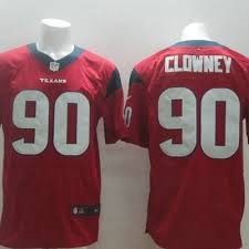 Jadeveon Clowney Houston Texans Alternate Red Jersey Size 44 Large by Nike