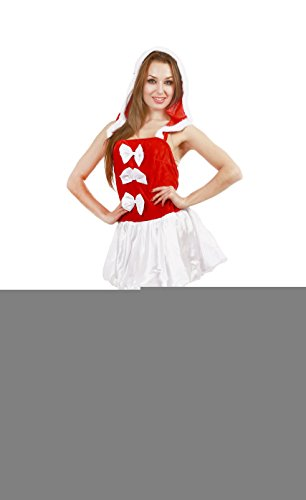 JUNPAI Women's Santa Dress229
