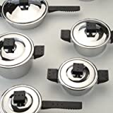 Jupiter Stainless Steel Cover 12-piece Cookware Set