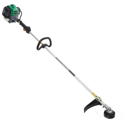 Review Of Hitachi CG22EASSLP 21.1cc 2 Stroke Gas Powered Straight Shaft Grass Trimmer (CARB Complian...