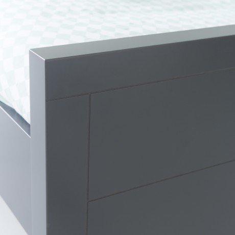 Alfred & Compagnie - Pack lit évolutif 140/170/200 + matelas + tiroir Anthracite