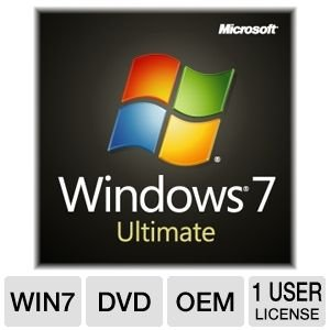Windows 7 Ultimate 64 Bit System Builder 1pk [Old Version]