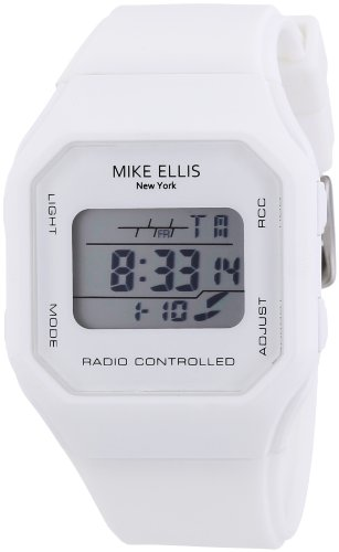 Mike Ellis New York Herren-Armbanduhr XS Digital Quarz Silikon S5242CS/1
