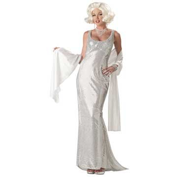 California Costumes Women's Platinum Marilyn Costume