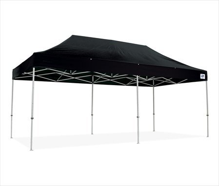 The Eclipse II 20 Ft. W x 10 Ft. D Canopy Color: Black