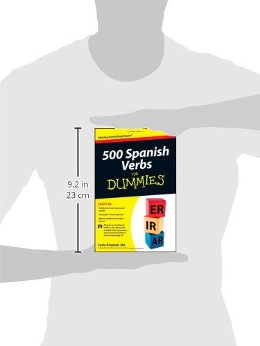 500 Spanish Verbs for Dummies