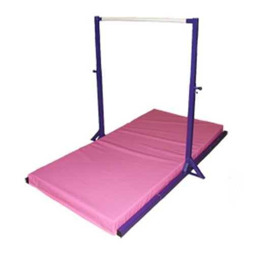 High bars gymnastics
