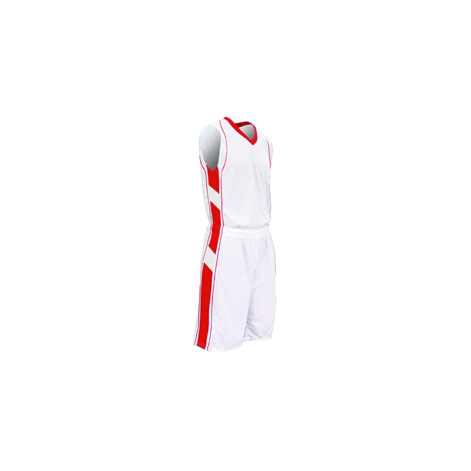 788d4cb976b Champro Adult Franchise Game Custom Basketball Jerseys WHI SCA  WHITE SCARLET AL