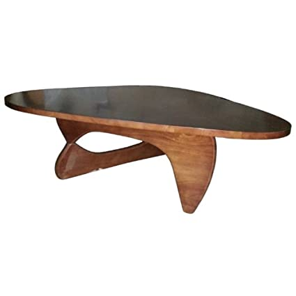 Fine Mod Imports Rare Coffee Table in Cherry