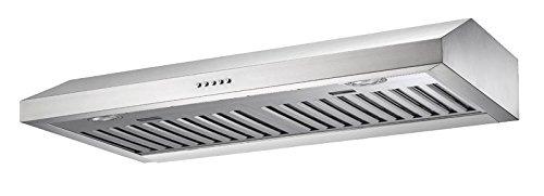 30 Inch Under Cabinet Range Hood Stainless Steel Baffle Filter 280 CFM PLJW 180 (Island Hood Insert compare prices)