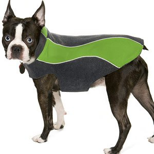 Kakadu Pet Explorer Fleece Reflective Dog Coat, 18