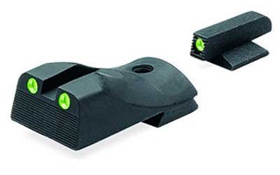 """Meprolight Kimber Tru-Dot Night Sight for """"Slant"""" Custom, Compact and Ultra - Fixed Set with Green Rear and Front Sight by Meprolight"""