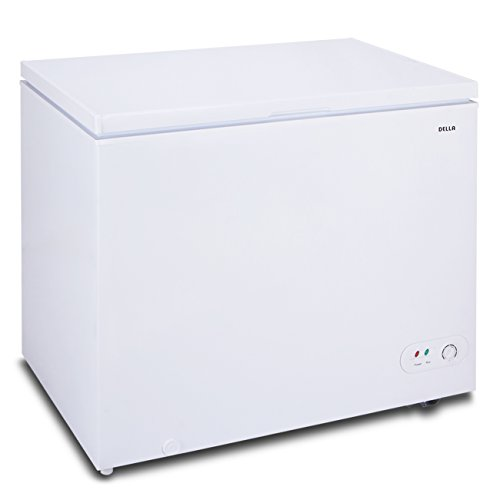 White Upright Chest Freezer