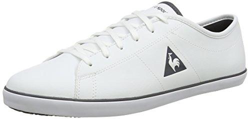 Le Coq SportifSlimset S Lea - Scarpe da Ginnastica Basse uomo, Bianco (Bianco (Optical White)), 43