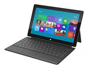 Microsoft Surface (64GB with Black Touch Cover)