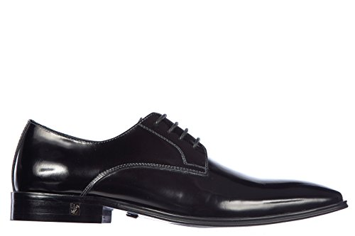 e7c00621912b0 Versace Collection men's classic leather lace up laced formal ...