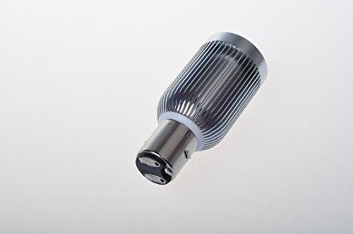 Suparee Dc9-60V Ba20D 8W Led Motorcycle Motor Bulb Lamp Light Beam Spotlight Source
