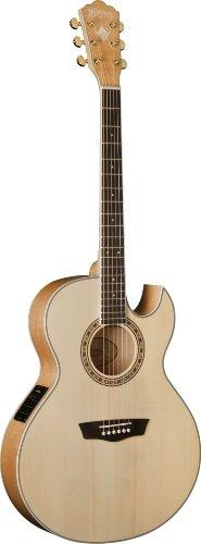 Washburn Usm-Ea40Sce Cumberland Series Acoustic Electric Guitar, Natural