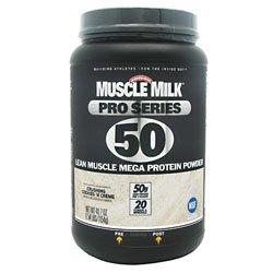 Cytosport Muscle Milk Pro Series Protein Powder, Crushing Cookies N Creme, 2.54 Pound