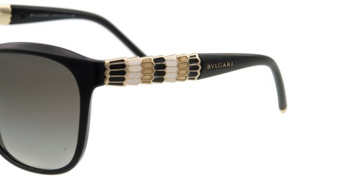 Bvlgari  Bvlgari 8104 901/11 Black 8104 Cats Eyes Sunglasses Lens Category 2