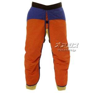 チェンソー 作業用防護衣 チャップス オレンジ×ネイビー DPR02-CS06 L