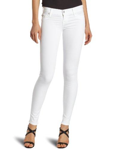 True Religion Women's Misty Super Skinny Legging, Optic White, 30