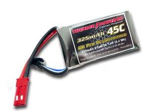 325mAh 2S 7.4V G6 Pro Performance 45C, JST