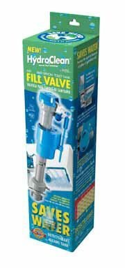 BlueSource HC660 HydroClean Water-Saving Toilet Fill Valve with Cleaning Tube by MJSI