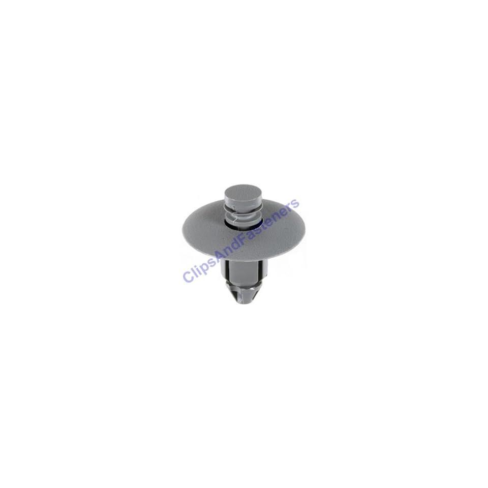 25 Light Gray Door Trim Panel Push Type Clips Charger