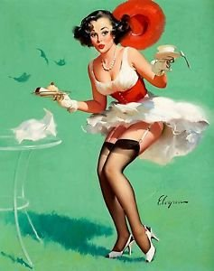 The Gallery For gt Vintage Pin Up Girl Kitchen
